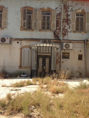 Orient House, where untold quantities of Palestinian archival material is being held hostage by Israel